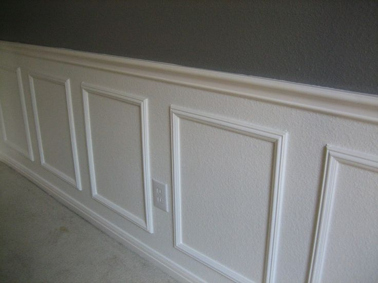 Hanging Chair For Bedroom Diy Walmart Kids Wainscoting Success (how To Install Without Power ... | Dining Room Pinterest