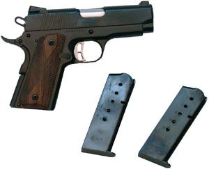 "Pointe Blank Firearms llc | Citadel CIT45CSP M-1911 Full Size 45 ACP 3.5"" 6+1 Wood Grip Blued"