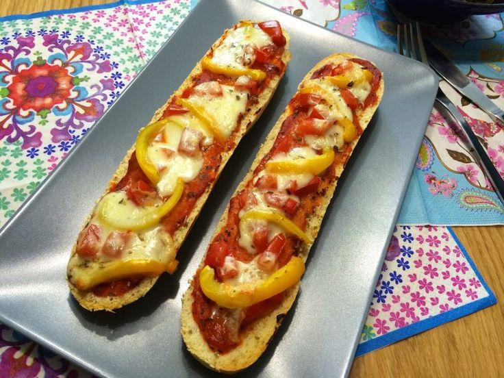 Eenvoudig recept voor de lekkerste Pizzabaguettes (basisrecept)