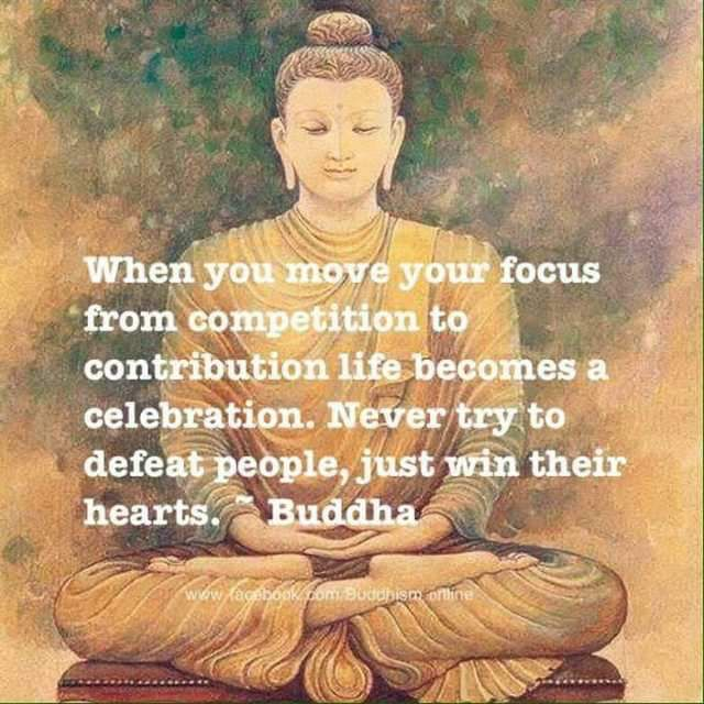 I rarely save these so-called Buddha quotes because I question how many are actually authentic, but I like the sentiment here, so