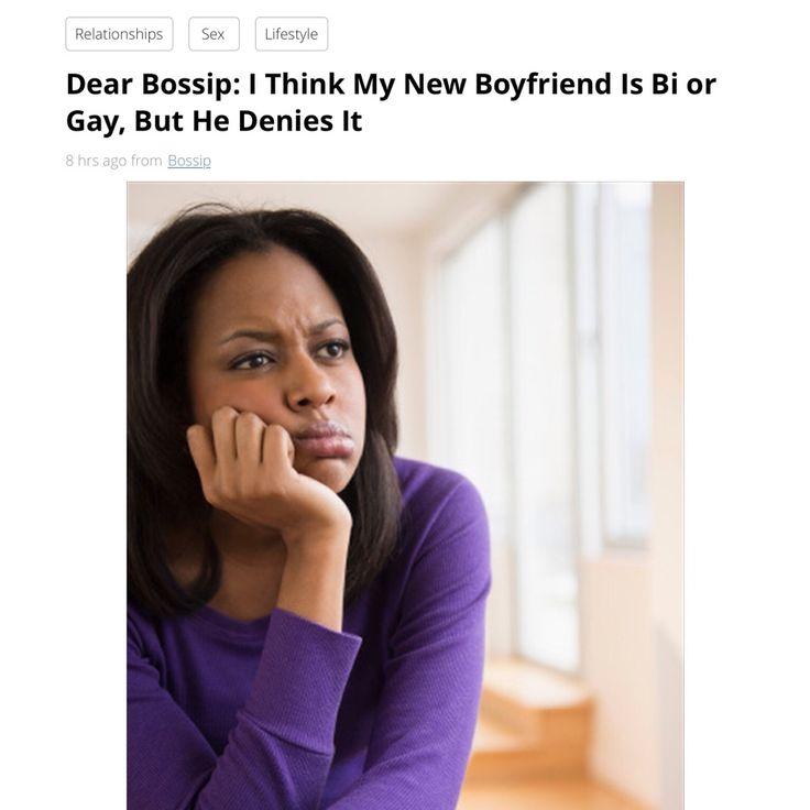 Is My Boyfriend Bisexual Or Gay