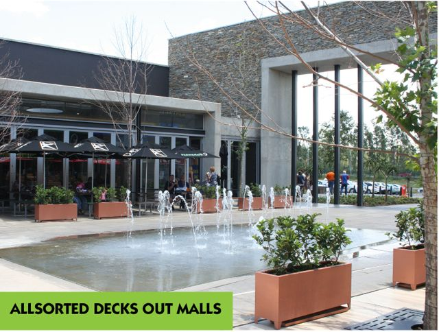 Allsorted Decks Out Shopping Malls