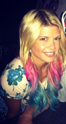 chanel west coast hair. So wish I could pull off some of her hair colors I love it!