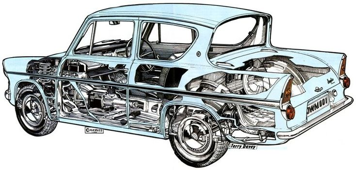 Cutaway from the Haynes Manual - terry davey