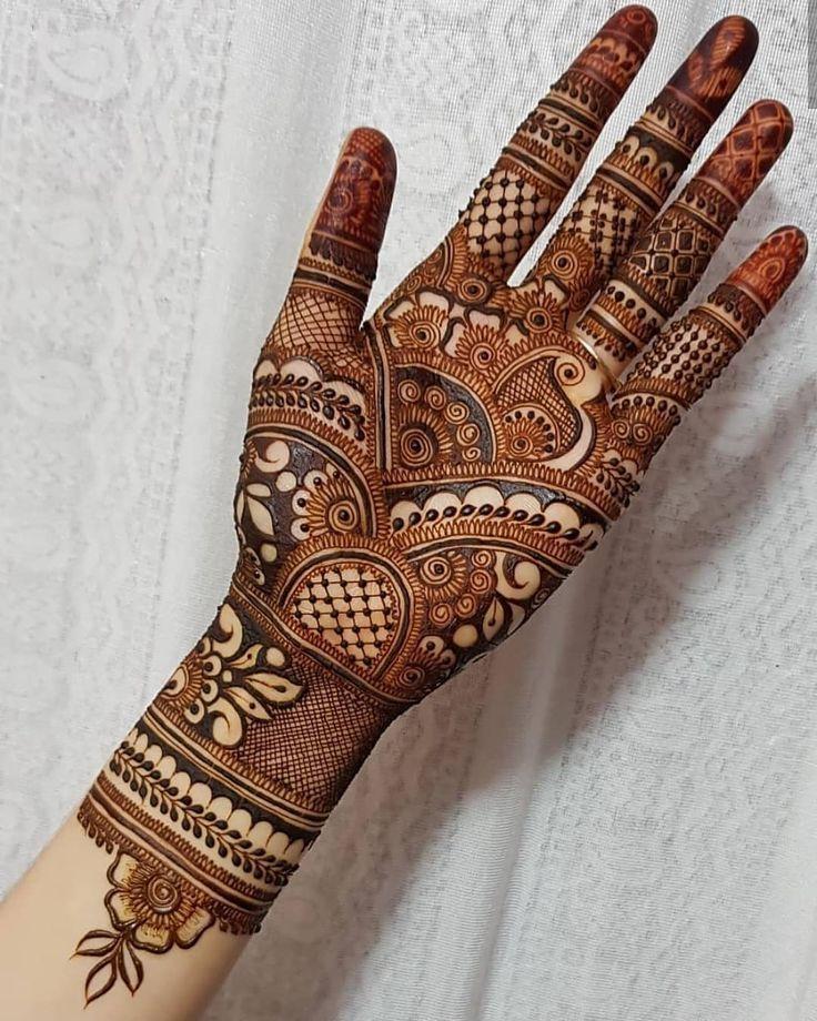 bharwa mehndi design simple