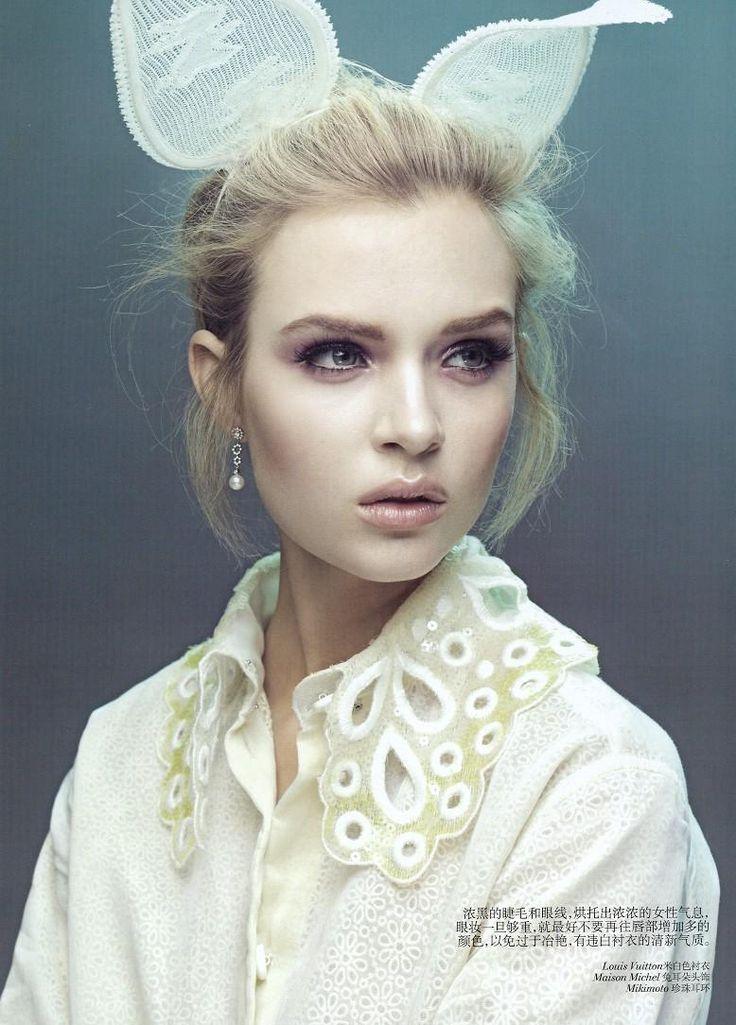 Jossephine Skriver by Raymond Meier Vogue China 2012