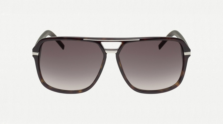 Dior Homme - it take me a long time to find sunglasses that work with my face (lulz) but these ones are perfect for me.