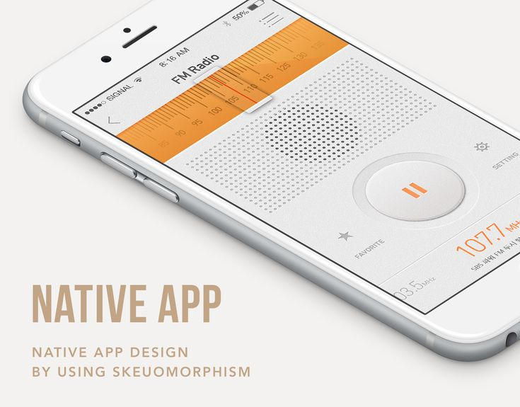 "다음 @Behance 프로젝트 확인: ""Skeuomorphic UI : Native App Design"" https://www.behance.net/gallery/21522593/Skeuomorphic-UI-Native-App-Design"