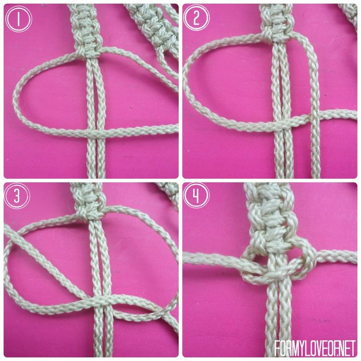 Diy Macrame Wall Hanging Tutorial Formyloveof Net
