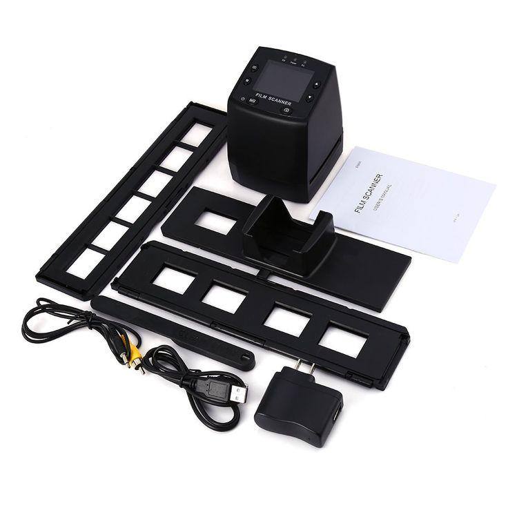 EC717 5MP 35mm Negative Film Slide Viewer Scanner USB Digital Color Photo Copier With 24 Hours