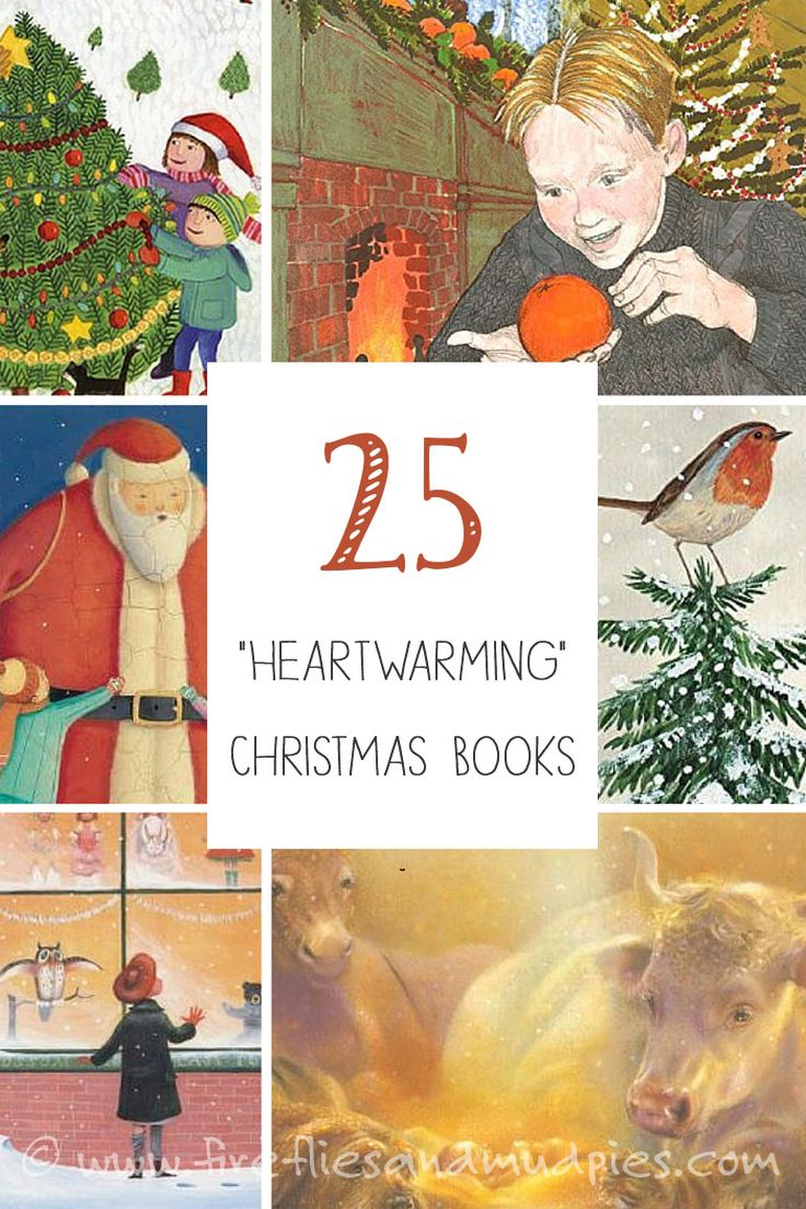 """25 """"Heartwarming"""" Holiday Christmas Books for Kids 