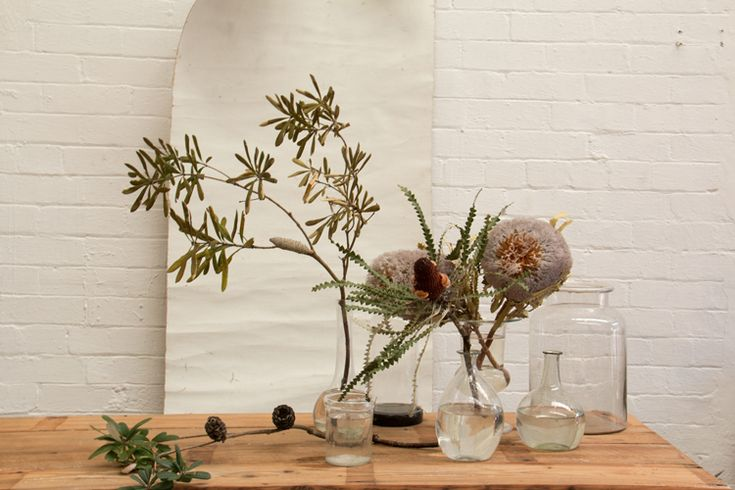 Jardine Hansen | Jardine Botanic has used some of our lovely Apoth Glass Jars in this vignette. Photo Courtesy of Sibella Court's The Society Inc.