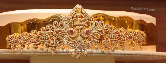 Diamond Lakshmi Vaddanam from Malabar
