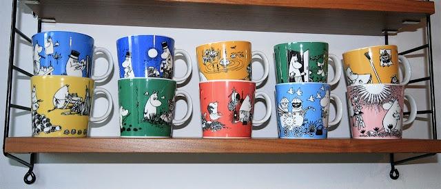 pientä mutta suurta: Moomin mugs from the 90´s