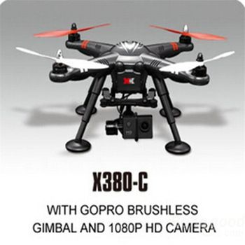 Xk detect x380 x380 c gps camera drones 2 4g 1080p hd rc for Fishing drone for sale