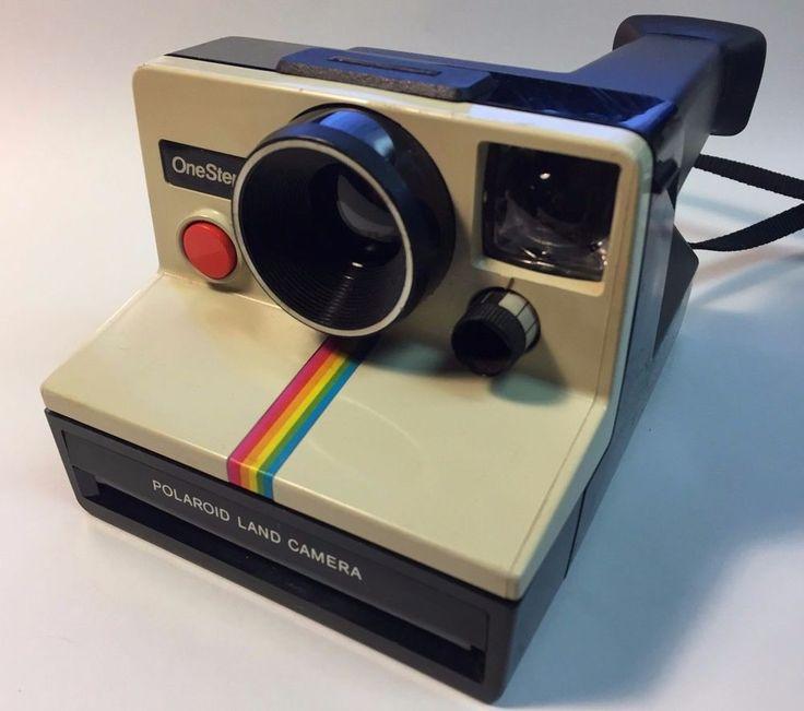 Polaroid OneStep Polaroid Land Camera SX-70 Film Pack Camera