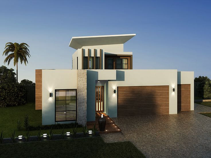 The impressive Rembrandt 387 shown with the modern fascia option #GalleryHomes #LuxuryHomes #DesignerHomes #RealEstate