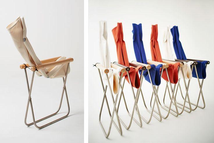 受賞歴多数の国産の名作折りたたみ椅子「Nychair・X」が復活! | タブルームニュース