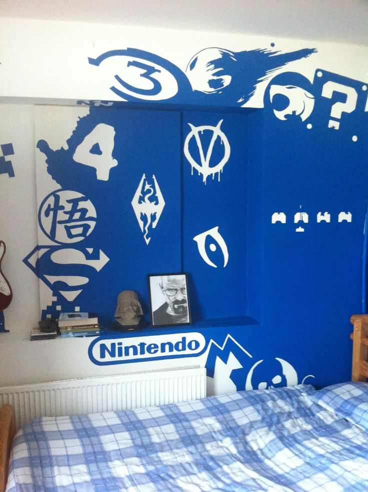 Video Game Logo Room