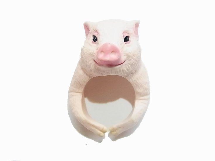 Amazon.co.jp|【CLING/クリング】アニマル リング ブタ【RELAX/リラックス】豚 ぶた ピッグ 動物 指輪 アクセサリー レディース メンズ 個性的 ユニーク おもしろ|ジュエリーストア オンライン通販