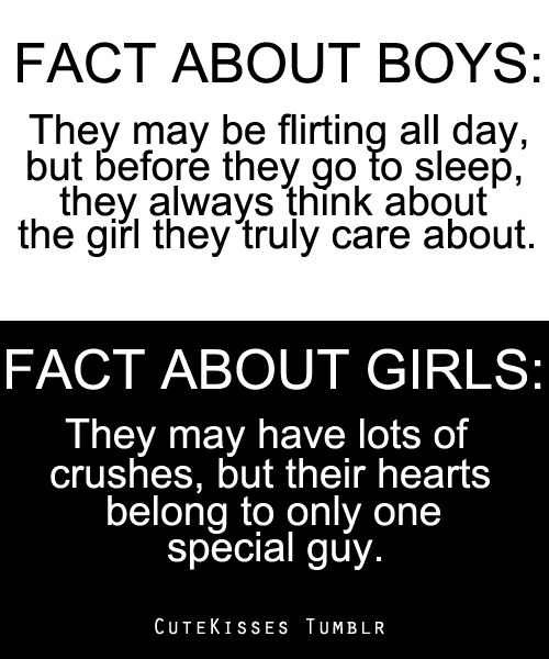 fact about boys vs. fact about girls