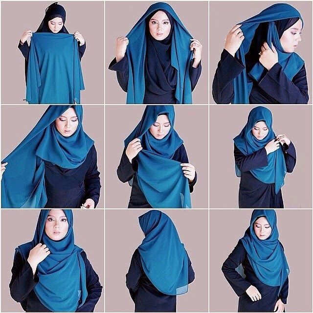 Amazing Full Coverage Hijab Tutorial