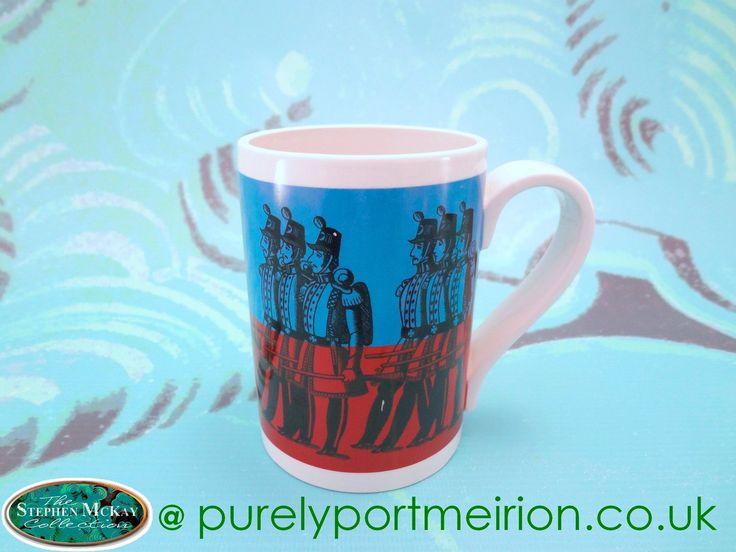 Portmeirion Reddingtons New Foot Soldiers Half Pint Mug