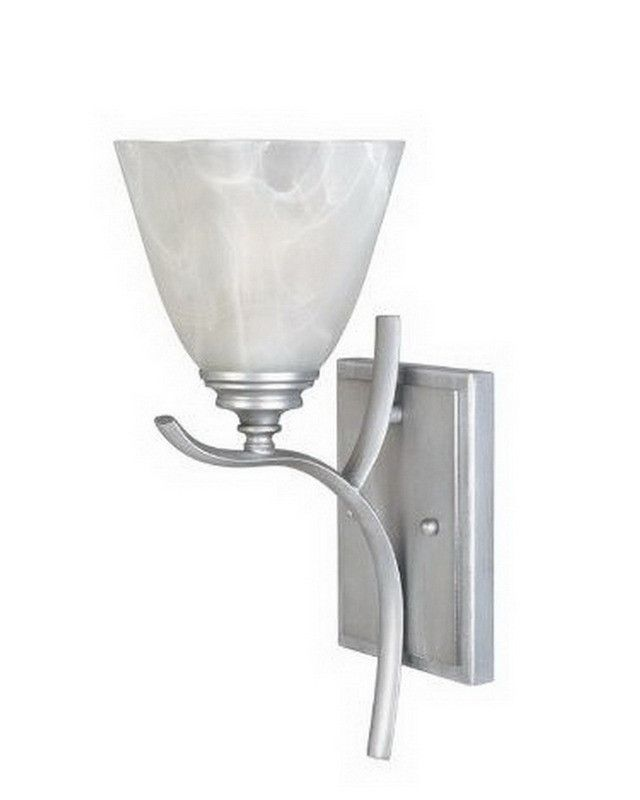 designers fountain lighting mtp one light wall sconce in matte pewter finish quality discount bathroom
