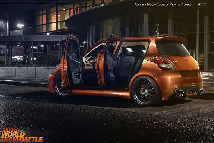 WTB Suzuki Swift #BR1 by Rob3rT----Design.deviantart.com on @DeviantArt