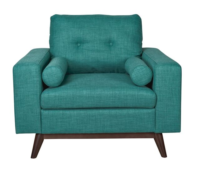 Contemporary, modern Furniture : Chairs, Brighton Arm Chair - Turquoise from Urban Barn to complement your style.