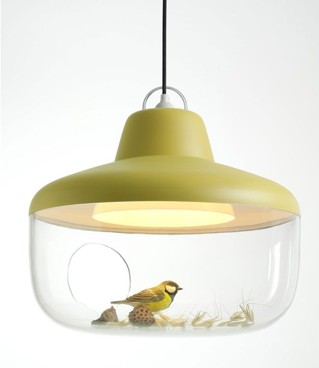 Lamp Favourite Things, by Chen Karlsson. Bird by Wildlife Garden  www.chenkarlsson.com www.wildlifegarden.se