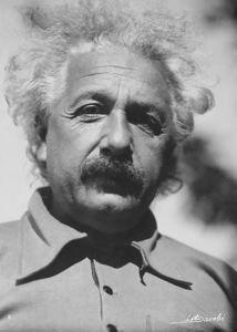 "Currier Collections Online - ""Albert Einstein"" by Lotte Jacobi"