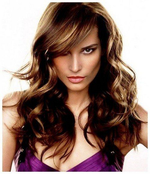 layered haircuts for curly hair with bangs 1000 ideas about layered bangs hairstyles on 4653