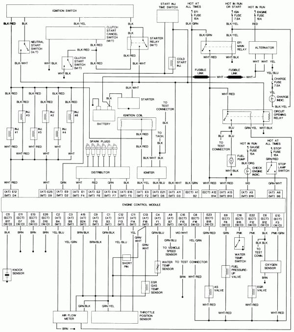 91 toyota pickup wiring diagram  220 dryer schematic wiring