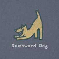 Downward dog!