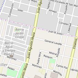Mapa de Maipú - Mapa de Maipú mostrando hoteles y restaurantes