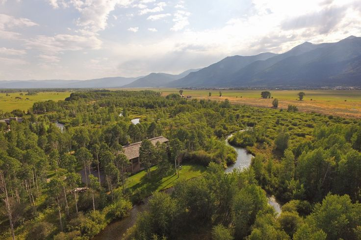 LAKE CREEK RANCH ~ A very special, exclusive property for sale in #JacksonHole, #Wyoming. www.spackmansinjh.com #realestate