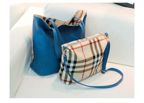 Bag Korea BJ4116-Blue (2 Pcs Bag) | Kaina Fashion