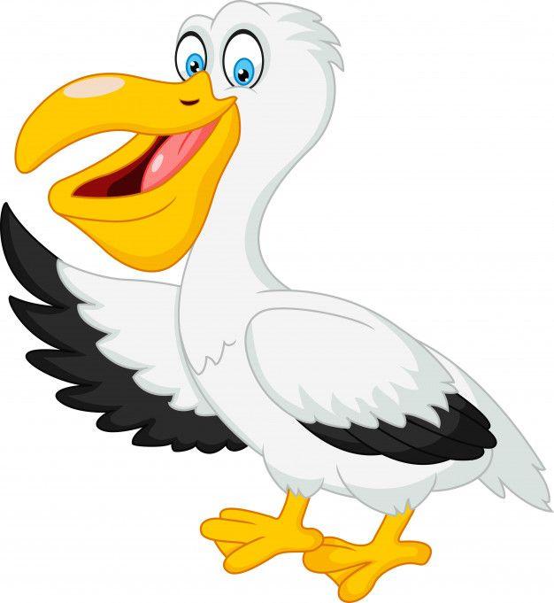 Cute Dibujos Animados Pelicano Saludando Premium Vector Freepik Vector Caracter Dibujos Animados Mar Pajaro Pelicano Dibujo Dibujos Animados Dibujos