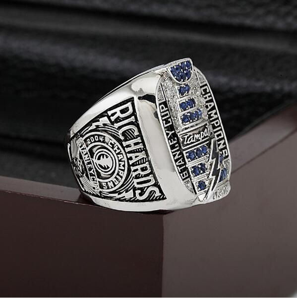 ==> [Free Shipping] Buy Best NHL 2004 TAMPA BAY LIGHTNING Hockey Stanley Cup Championship Ring Size 10-13 WithWooden Box Christmas Fans Best Gift Replica Online with LOWEST Price | 32751359856