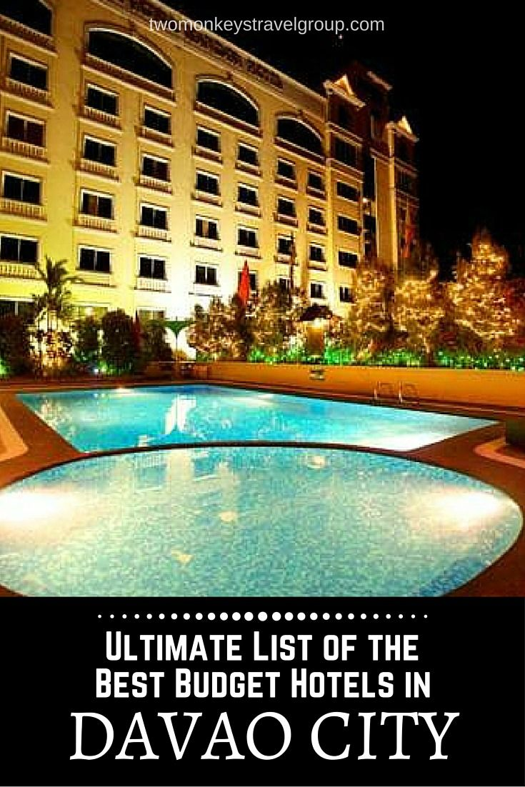 Providing you the ultimate list of the BEST BUDGET HOTELS DAVAO CITY – includes rates, locations and great reviews that will definitely help you with your stay in Davao City, Philippines