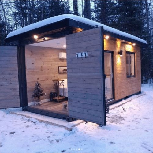 DWELL20 TINY CONTAINER CABIN