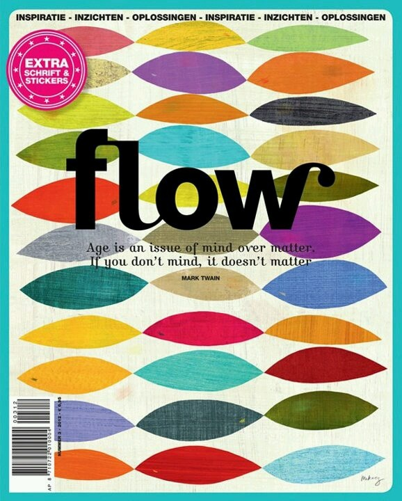Magazine cover Flow (also available in English)