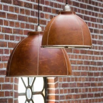 Kevin Small Leather Pendant Fitting