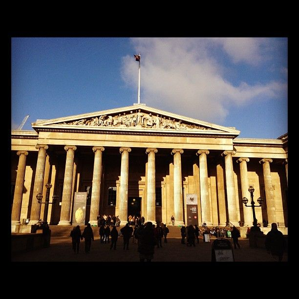 The British Museum through my iPhone