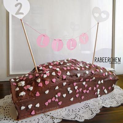 RABEERCHEN: Pimp your Kuchen #kuchenkette #freebie