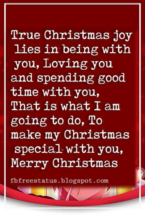 Christmas Quotes And Sayings Christmas Love Quotes Messages For