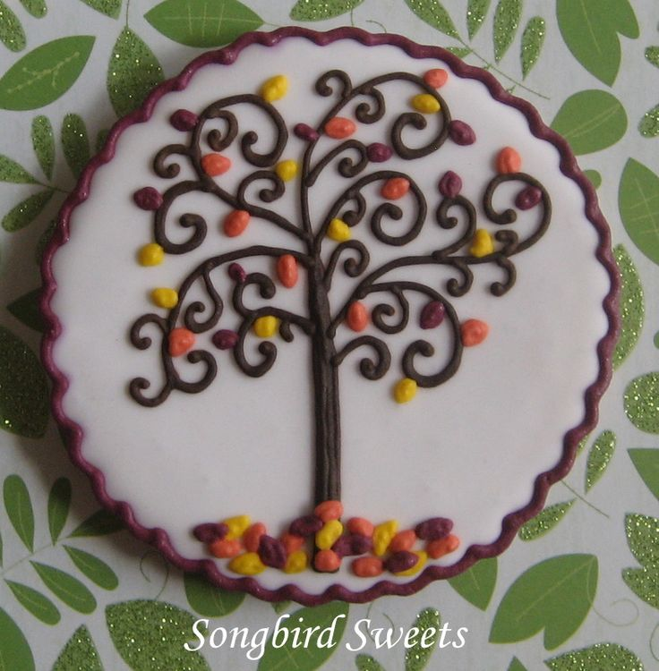 Cookie Swap Cookie (Fall Theme)