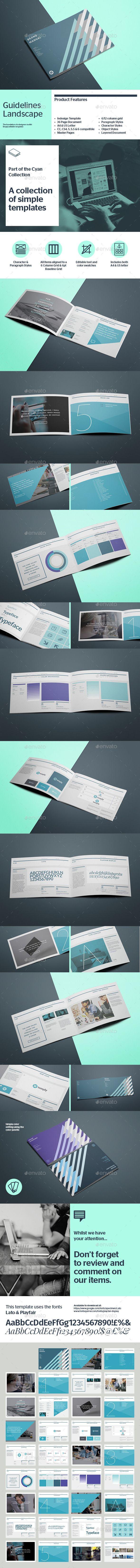 Brand Manual Horizontal | GraphicRiver