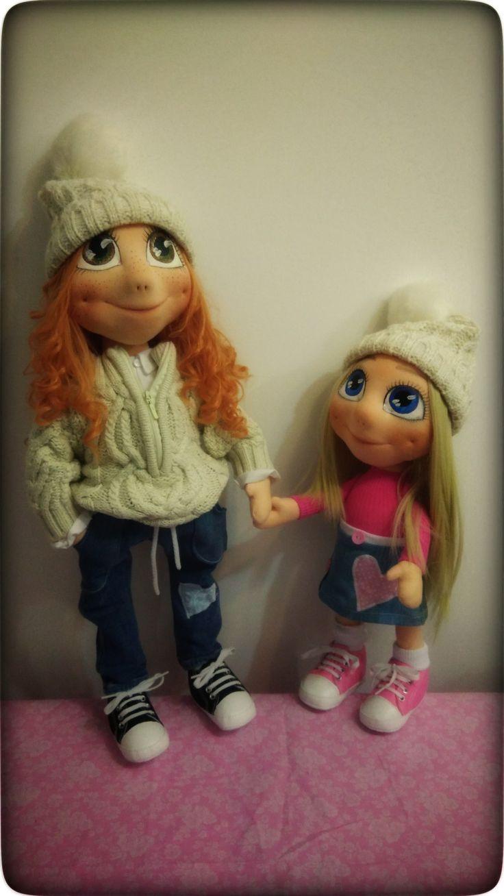 My handmade dolls ❤️